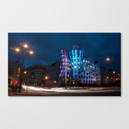 The Dancing House Canvas Print