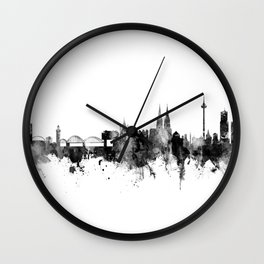 Cologne Germany Skyline Wall Clock