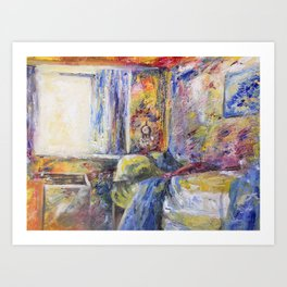 Morning wake Art Print