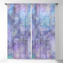 Lavender Dreams Sheer Curtain