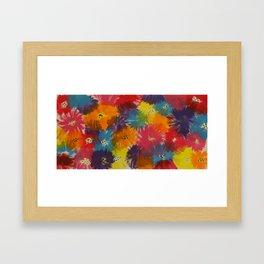 Raising Wildflowers Framed Art Print