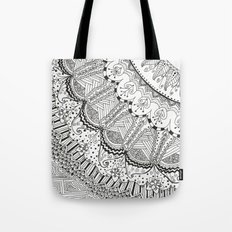 Doodle Madness Tote Bag