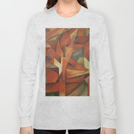 Foxes - Homage to Franz Marc (1913) Long Sleeve T-shirt