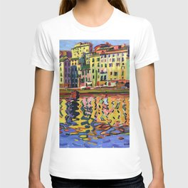 Auguste Herbin - The Quays of the Port of Bastia T-shirt