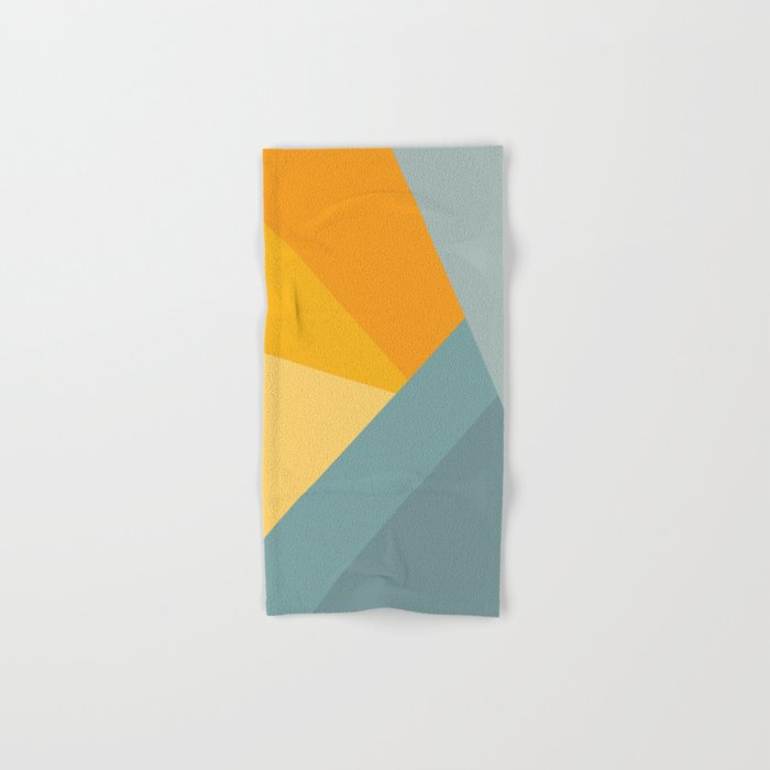 Abstract Mountain Sunrise Hand & Bath Towel