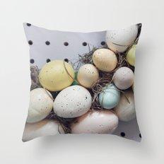 Easter treats Throw Pillow