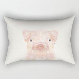 little piggy Rectangular Pillow