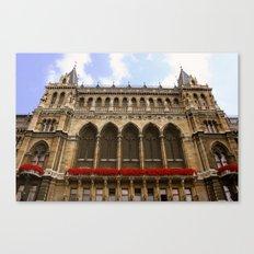 Building in Vienna Canvas Print