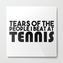 Tennis gifts for mom Metal Print