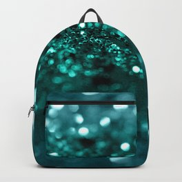 Sparkling OCEAN Glitter #1 #shiny #decor #art #society6 Backpack