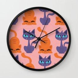 Kitty Cats Wall Clock