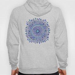 Indigo Flowered Mandala Hoody