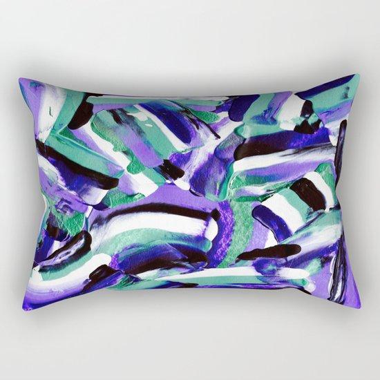 Tara - Abstract Rectangular Pillow