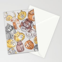 Lot of cats Stationery Cards