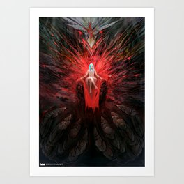 Stone Demon Art Print