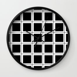 Box - think outside of it! Wall Clock