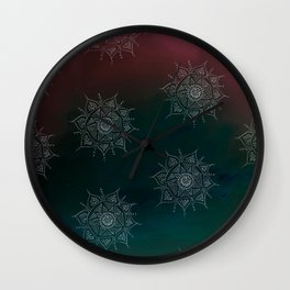 Amoeba Wall Clock