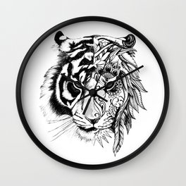Tiger Tiger Wall Clock