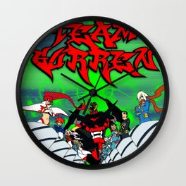 Team Gurren Wall Clock