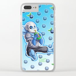 A very berry juice box Clear iPhone Case
