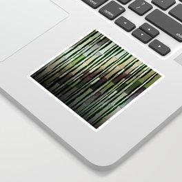 Modern Rustic Bamboo Garden  Sticker
