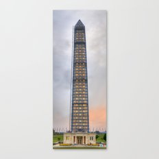 Washington Monument HDR Canvas Print