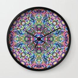 Mandala Genie Wall Clock