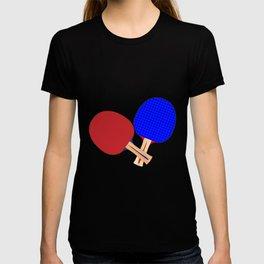 Two Table Tennis Bats T-shirt
