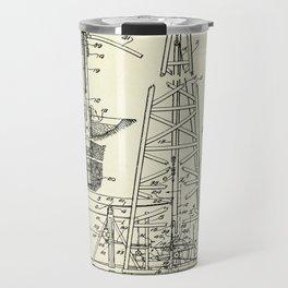 Combination Standard and Hydraulic Drilling Rig-1911 Travel Mug