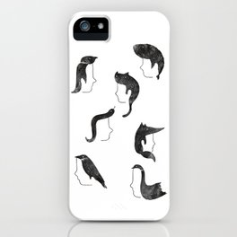 Hairnimals iPhone Case