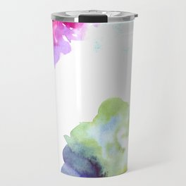 180802 Beautiful Rejection  10| Colorful Abstract Travel Mug