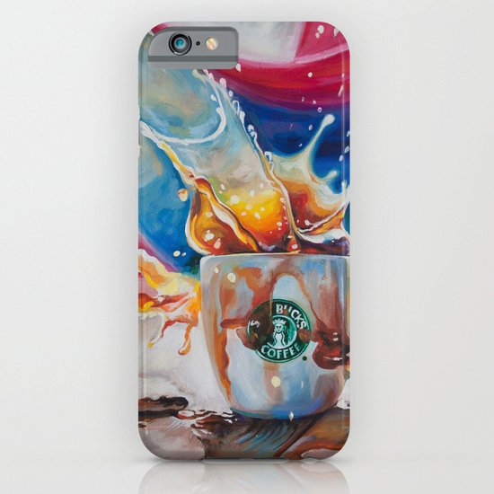 Coffee Splash! iPhone & iPod Case