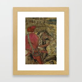 Hunt of Maximilian 3 Framed Art Print