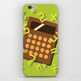 Numeric Escape iPhone Skin