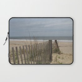 Welcome To The Isolation Of A Beautiful Beach Laptop Sleeve
