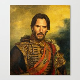 Keanu Reeves - replaceface Canvas Print