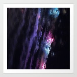 Cascade of Colour Art Print