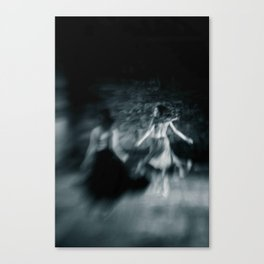 Two women Canvas Print