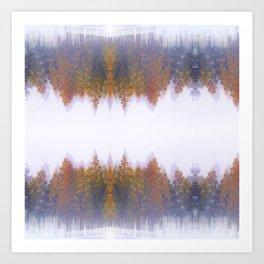 Japan Trees Art Print