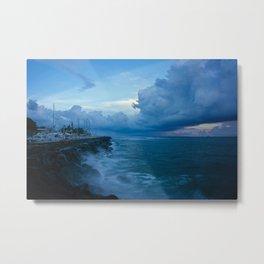 blue nature Metal Print