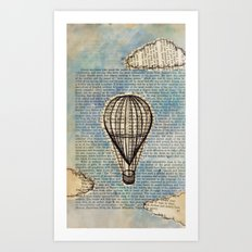 Drifting Slowly Art Print