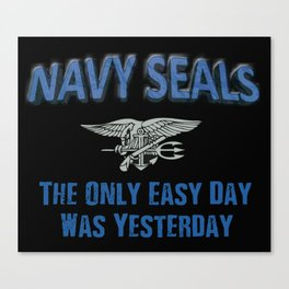 Navy Seals Canvas Print