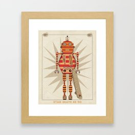stan skate xe 90 Framed Art Print