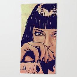 Mia Wallace Beach Towel