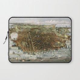 San Francisco-California-United States-1878 Laptop Sleeve