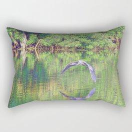 Blue In Holy Hill Rectangular Pillow
