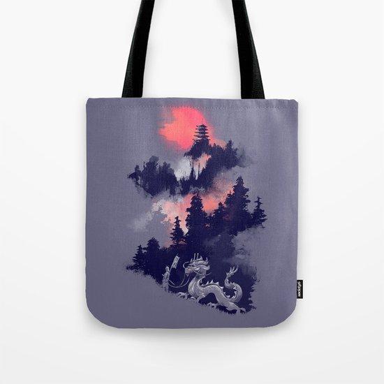 Samurai's life Tote Bag