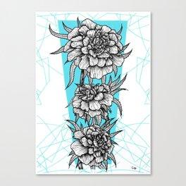 Oeillet Canvas Print