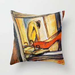 misplacement Throw Pillow