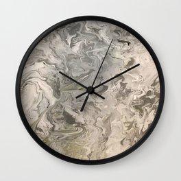 Marble #4 Wall Clock